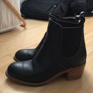 Red Wing Ankle Boots - Black - Size 7.5